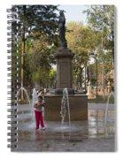 Around Alameda Central Spiral Notebook