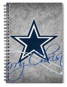 Dallas Cowboys Spiral Notebook