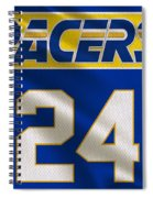 Indiana Pacers Uniform Spiral Notebook