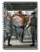 13. Jesus Goes To His Execution / From The Passion Of Christ - A Gay Vision Spiral Notebook