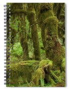 Olympic National Park Spiral Notebook