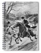Paul Reveres Ride Spiral Notebook