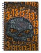 13 Skull Spiral Notebook