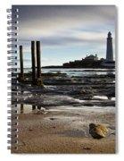 St Marys Lighthouse Spiral Notebook