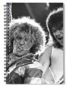 Van Halen - Sammy Hagar With Eddie Van Halen Spiral Notebook