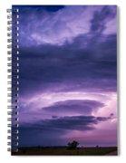 Wicked Good Nebraska Supercell Spiral Notebook
