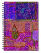 1381 Abstract Thought Spiral Notebook