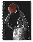 Basketball Shot Spiral Notebook