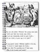 Carroll Alice, 1865 Spiral Notebook