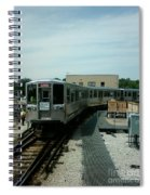 Cta's Retired 2200-series Railcar Spiral Notebook