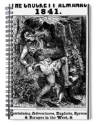 Davy Crockett (1786-1836) Spiral Notebook