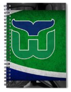 Hartford Whalers Spiral Notebook