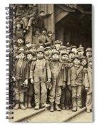 Hine Child Labor, 1911 Spiral Notebook