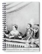 Lincoln Assassination Spiral Notebook