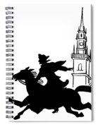 Paul Reveres Ride Spiral Notebook