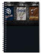 San Diego Padres Spiral Notebook
