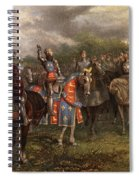1400s Henry V Of England Speaking Spiral Notebook