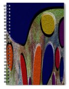 1404 Abstract Thought Spiral Notebook