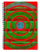 1407 Abstract Thought Spiral Notebook