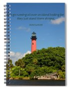 141- Anne Lamott Spiral Notebook