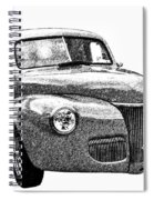 1941 Ford Coupe Spiral Notebook