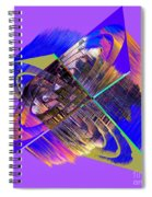 1422 Abstract Thought Spiral Notebook