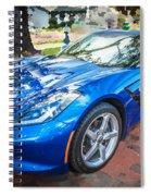2014 Chevrolet Corvette C7 Spiral Notebook