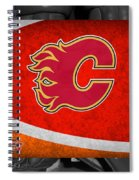 Calgary Flames Spiral Notebook