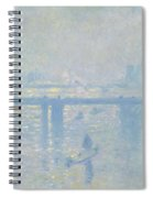 Charing Cross Bridge Spiral Notebook