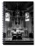 Church Of Saint Agnes Spiral Notebook