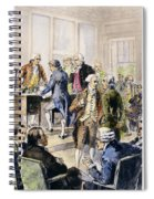Declaration Of Independence Spiral Notebook