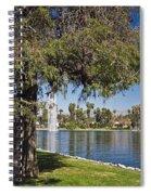 Echo Park L A  Spiral Notebook
