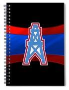 Houston Oilers Spiral Notebook