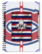 Montreal Canadiens Spiral Notebook