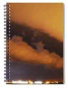 Nebraska Roll Cloud A Cometh Spiral Notebook