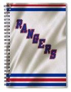 New York Rangers Spiral Notebook