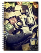 154 Bullets In 5 Minutes Spiral Notebook