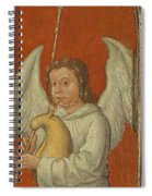 15th Century Angel Painting 6 Spiral Notebook