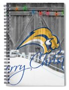 Buffalo Sabres Spiral Notebook