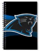 Carolina Panthers Spiral Notebook