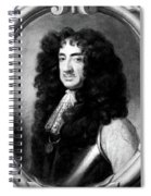 Charles II (1630-1685) Spiral Notebook
