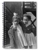 Chicago Children, 1941 Spiral Notebook