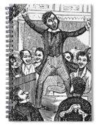 Davy Crockett (1786-1836) Spiral Notebook