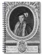 Edward Vi (1537-1553) Spiral Notebook