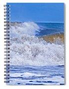 Hurricane Storm Waves Spiral Notebook