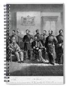 Lee's Surrender, 1865 Spiral Notebook