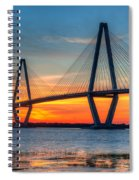 Twilight Over Ravenel Spiral Notebook