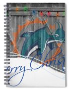 Miami Dolphins Spiral Notebook