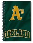 Oakland Athletics Spiral Notebook