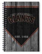 San Francisco Giants Spiral Notebook